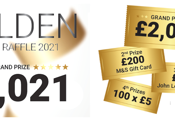 Mountbatten Golden Ticket Raffle