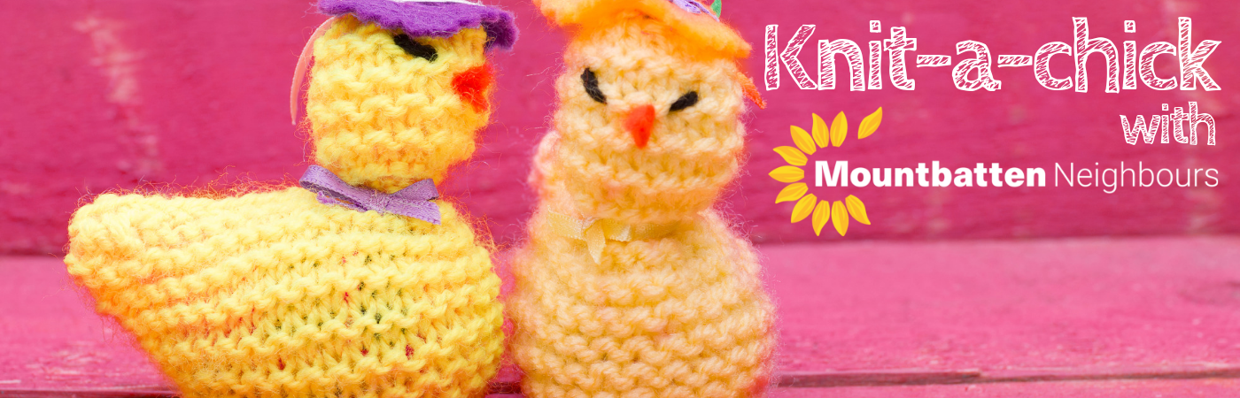 Knit-a-chick for Mountbatten