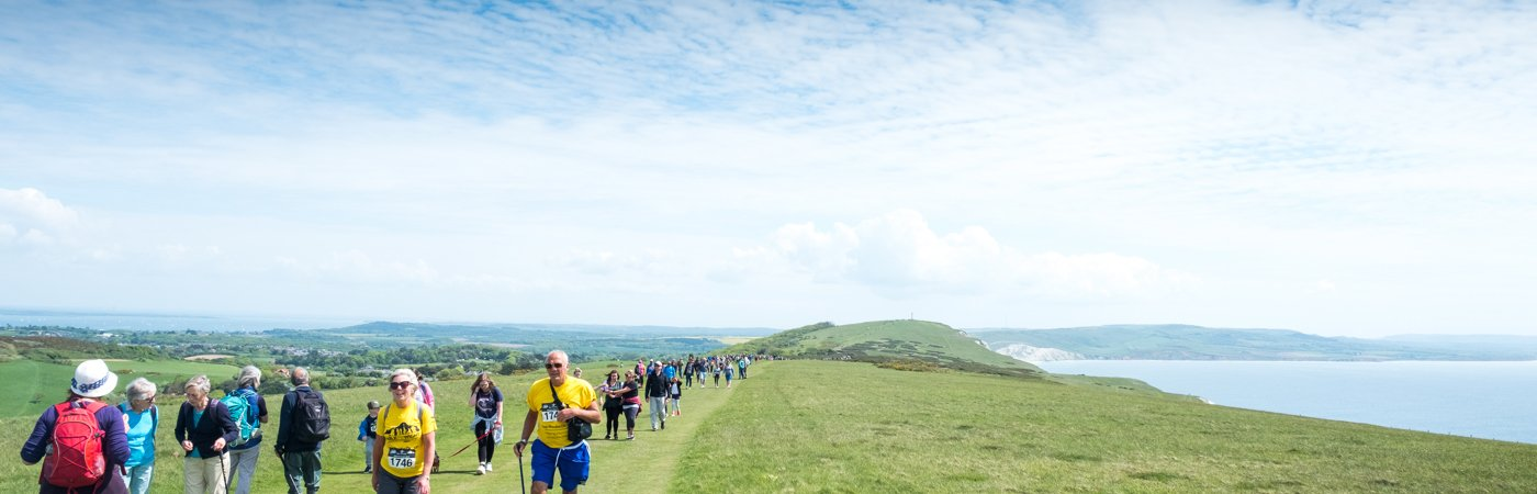 Green light to Walk the Wight with Mountbatten