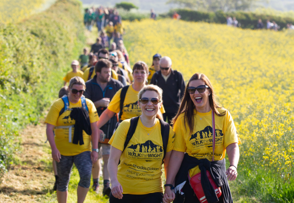 Registrations now open for Walk the Wight 2021